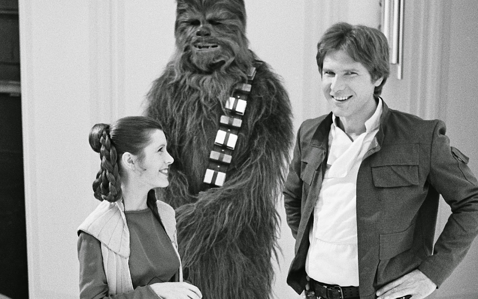 Image result for leia han chewie